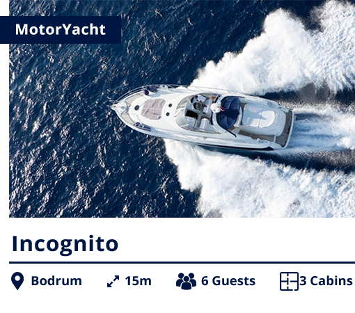 Incognito - MotorYacht - NIS - Bodrum