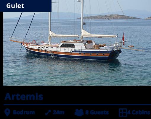 Artemis - Gulet - Bodrum - NIS