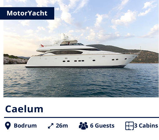 Caelum - MotorYacht - NIS - Bodrum