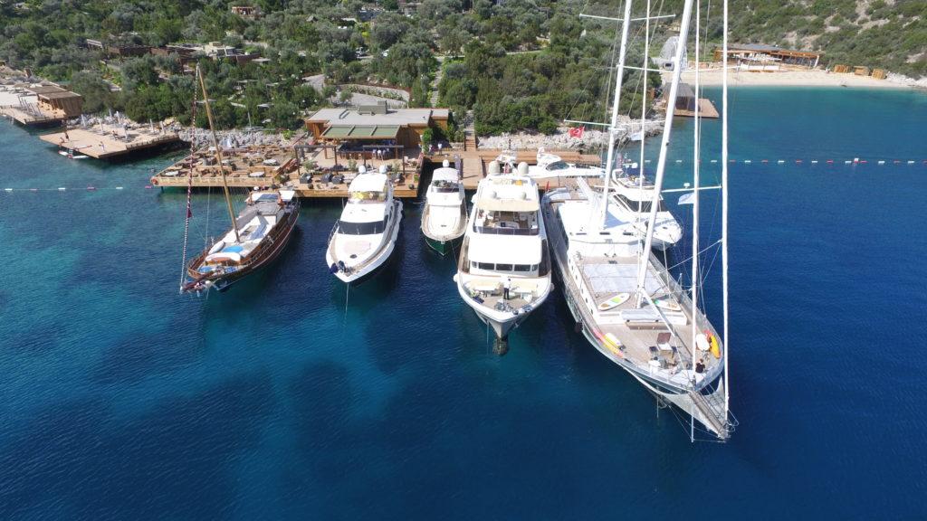 NIS yachting Mandarin Oriental bodrum Yacht Fleet