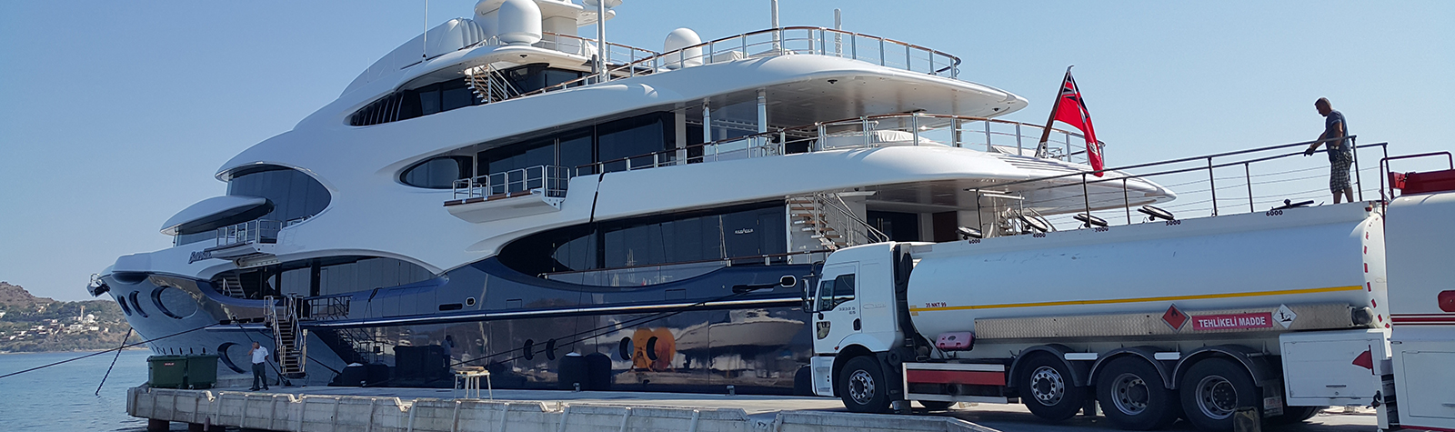 Newly launched M/Y Barbara appointed NIS