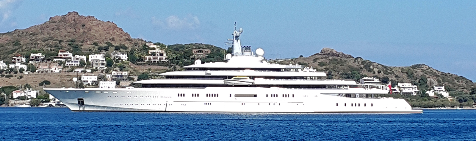 M/Y Eclipse has shown up in  Bodrum first time