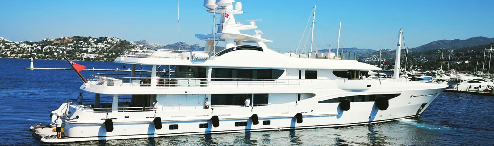 Faboulous M/Y EJI visited Bodrum