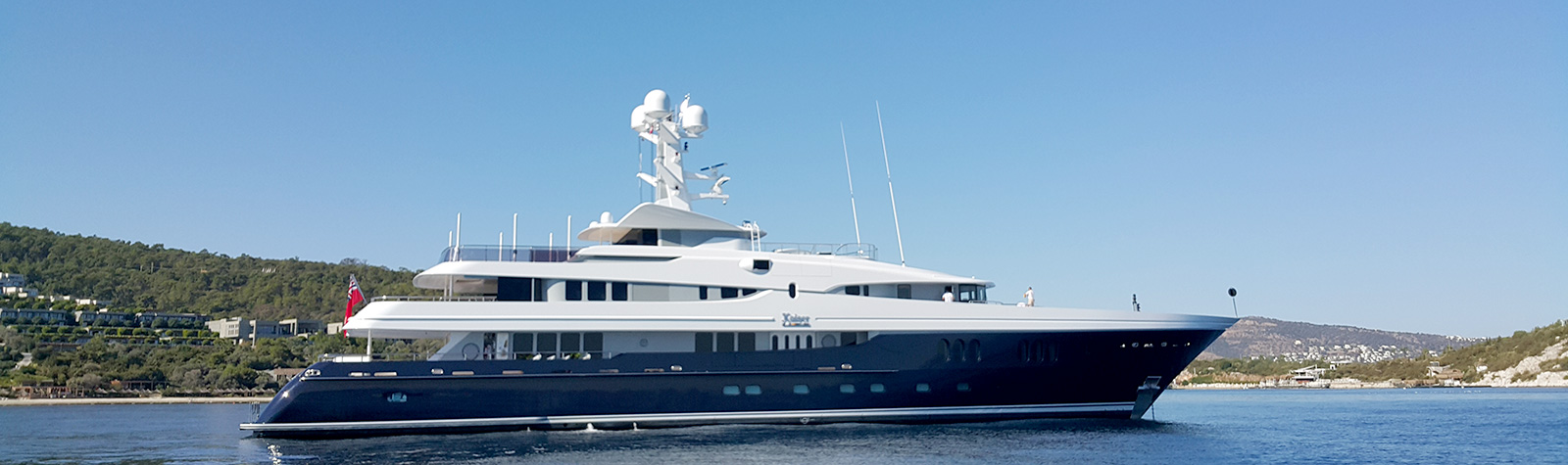 Gorgeous M/Y Kaiser appointed NIS