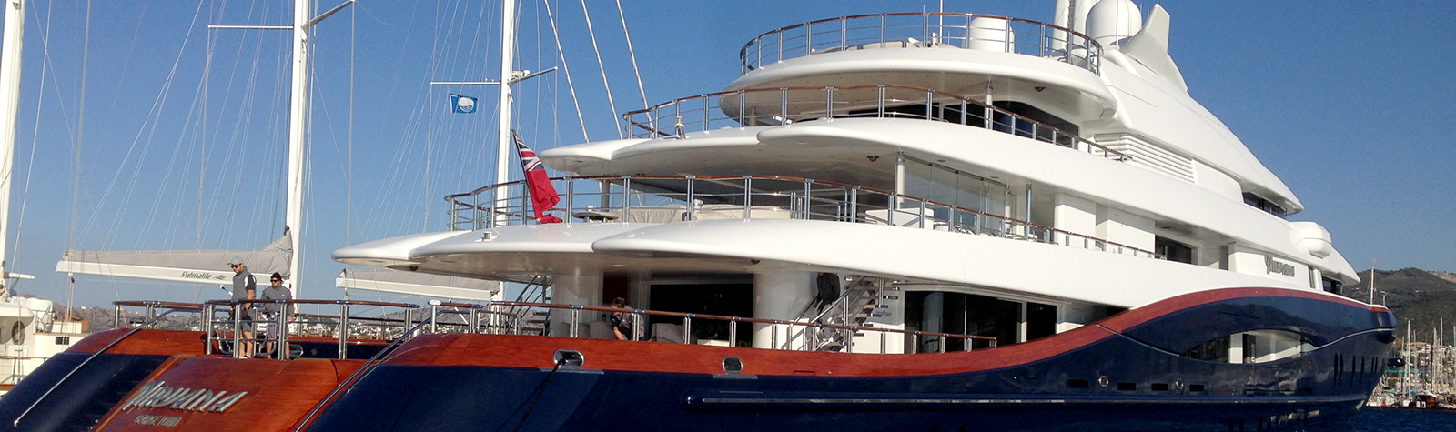 M/Y Nirvana visited Bodrum and Marmaris first time