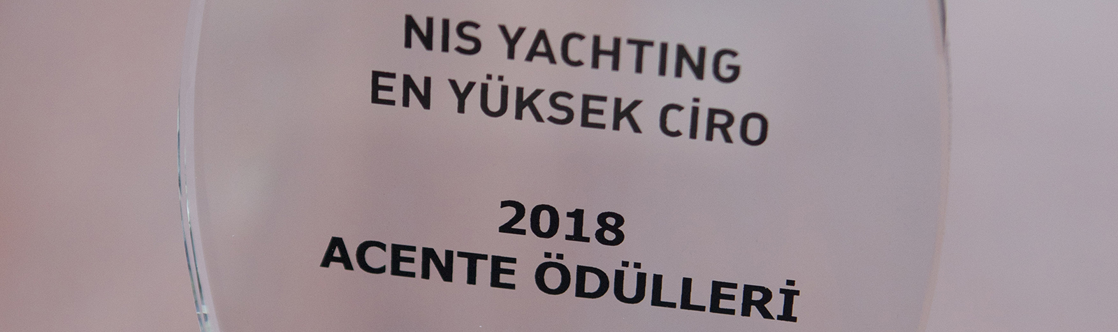An award from Yalikavak Marina